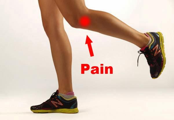 درد زانو در حال دویدن
