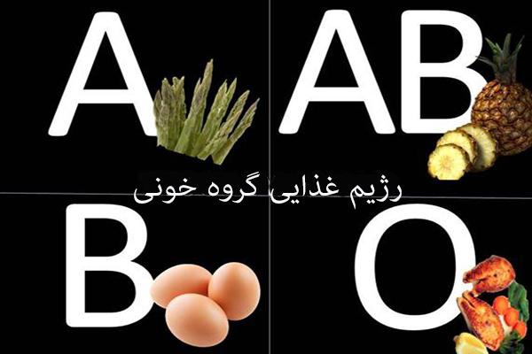 blood type diet ۶ رژیم غذایی معروف که در عمل موثر نیستند!