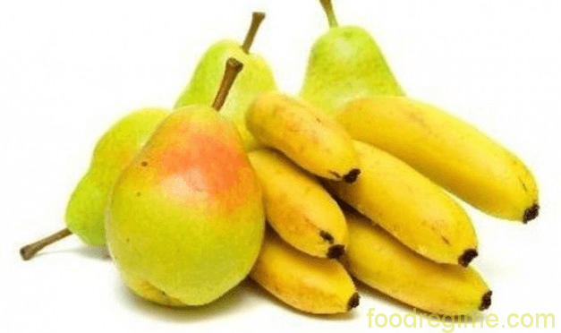 خواص سیب و موز
