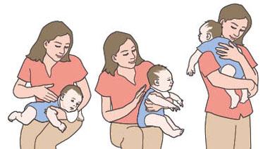 دل درد گرفتن نوزاد