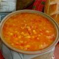 سوپ نخود و عدس مراکشی