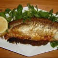 ماهی کبابی در فر - رژیمی